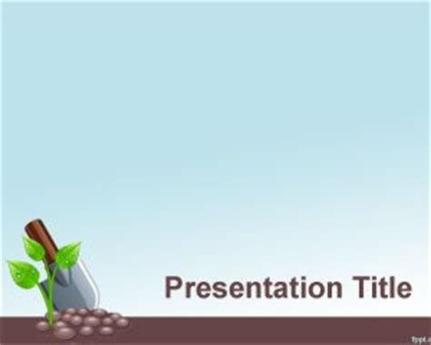 plants themes for powerpoint 2007 free download seed germination process powerpoint template