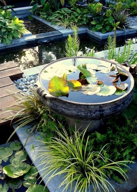 awesome mini ponds  complete  outdoor decor