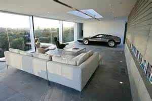 the garage of the future a living room for your car l
