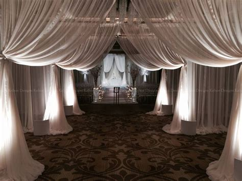 wedding sheer drapes white sheer chiffon voile wedding drape draping backdrop