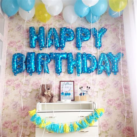happy birthday decoration 16inch 13pcs lot happy birthday letter decoration balloons