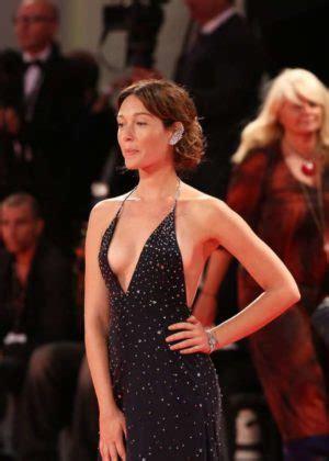 cristiana capotondi suffers nip slip at venice film fest cristiana capotondi 2017 venice film festival