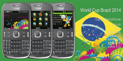 tema memes mobile themes for nokia asha 210 world cup brazil theme nokia asha 302 320x240 s406th