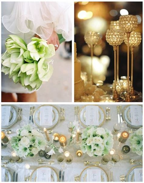 wedding decor green and gold gold and green wedding decorations wedding co