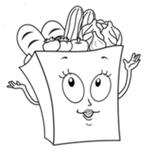 grocery bag coloring page coloring pages josie s organics