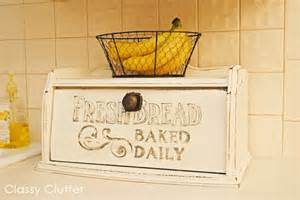 Pottery Barn Kids Easter Fresh Bread Hand Painted Bread Box Classy Clutter