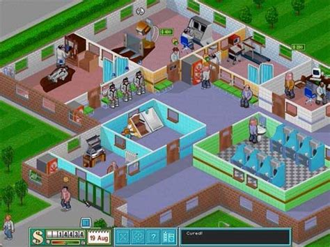 theme hospital list of diseases games for gamers news and download of free and indie