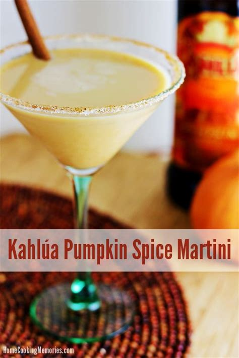 pumpkin martini recipe kahl 250 a pumpkin spice martini recipe drink recipes