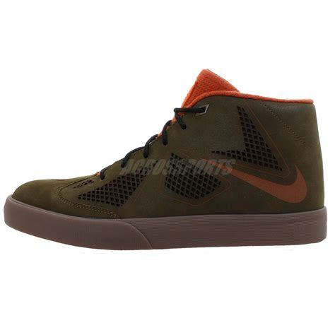nike lebron x nsw lifestyle green orange 10 2013