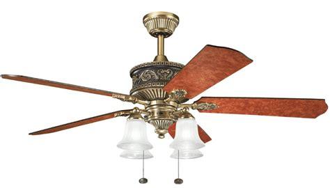 52 inch antique brass ceiling fan kichler ceiling fans best ceiling fans