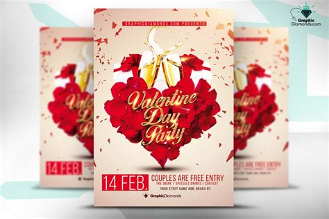 free photoshop templates for valentines day free valentines day flyer templates yourweek 9c8d8beca25e