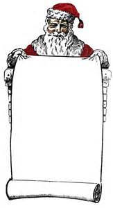 Old Rug Free Vintage Clip Art Victorian Santa Sign Holder The