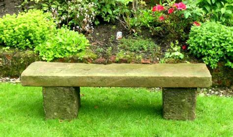 garden seats and benches sandstone garden bench english garden antiques