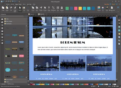poster design software three best poster design software for windows visio like