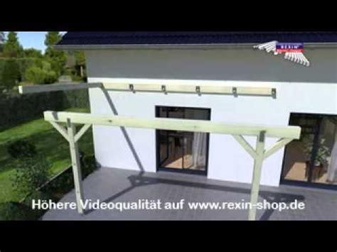 Zierleisten Styropor Wand by 3d Aufbauanleitung Terrassendach 2 Unterkonstruktion