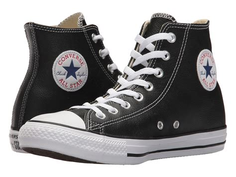 Jual Converse Chuck Leather converse chuck 174 all 174 leather hi at zappos