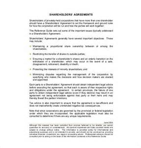 Shareholders Agreement Template 11 shareholder agreement templates free sle exle