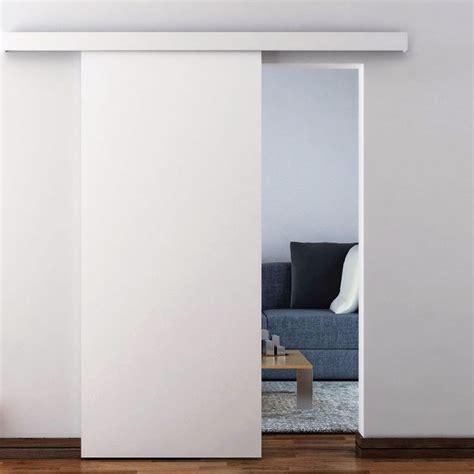 sliding door kit for wooden door bzp mild steel f h brundle
