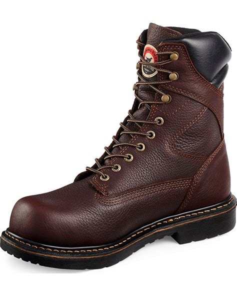 wing steel toe work boots wing setter farmington lace up work boots steel