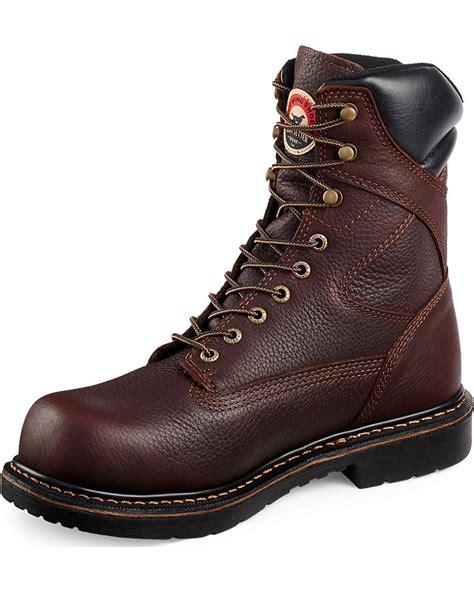 steel toe boots wing setter farmington lace up work boots steel
