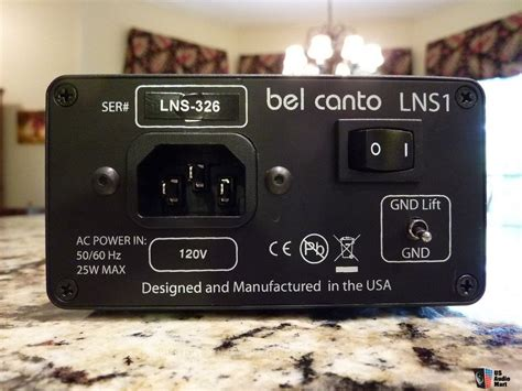 Sale Power Supply Prospec Cronus bel canto dac 1 5 dac pre with lns1 power supply and mlink asynchronous usb converter photo