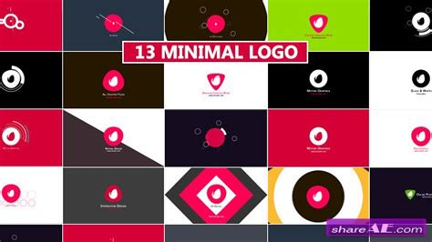 Ae Project Logo Pack All Videohive Profesional videohive minimal logo reveal pack after effects projects 187 free after effects templates