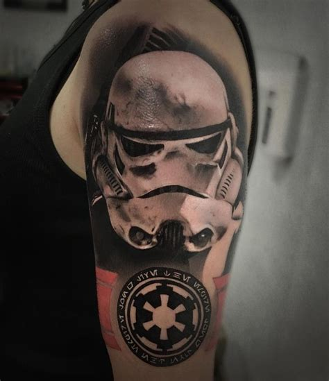 star wars tattoo design stormtrooper hledat googlem wars