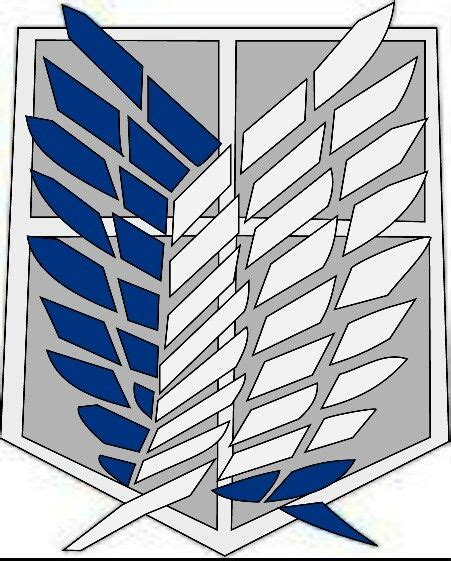 Wings Of Freedom the survey corps logo wings of freedom attack on titan