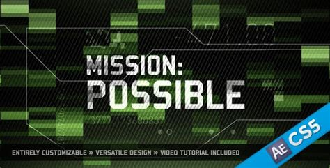 mission   motionrevolver videohive