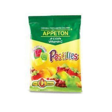 Appeton Nutrition appeton a z vitamin c pastilles reviews