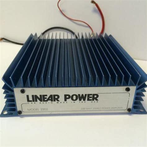 linear power lifier ebay