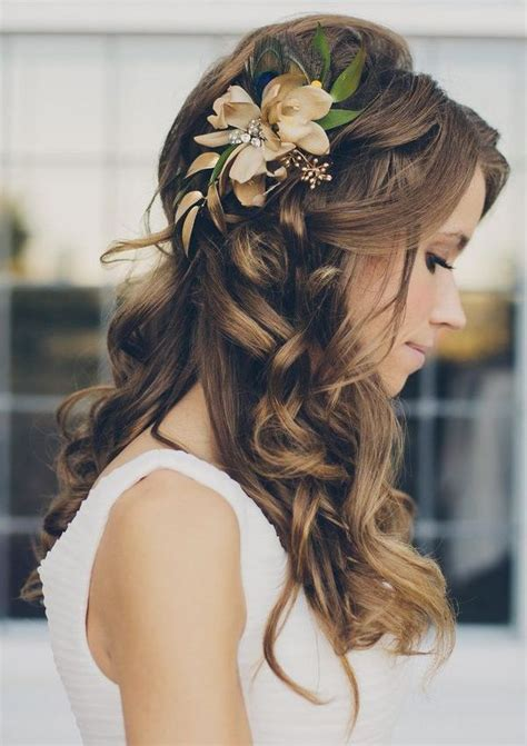 hairstyle design for bride 15 beautiful wedding hairstyles for long hair