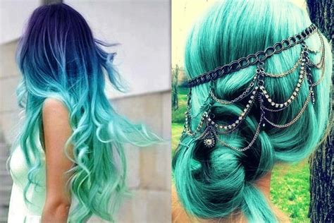 teal color hair teal ombre hair related keywords suggestions teal