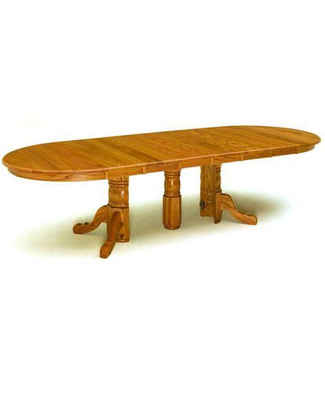 Split Pedestal Table split pedestal dining table amish direct furniture