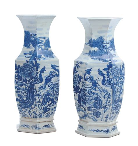 vasi cinesi grandi coppia di vasi in porcellana cina xx secolo arte