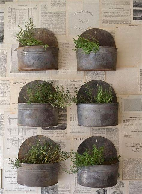 Herb Garden Planter Container by 25 Best Ideas About Herb Wall On Indoor