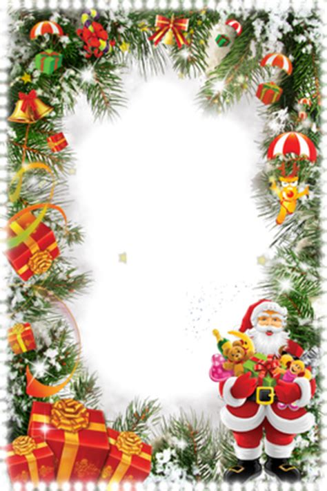 imagenes navideñas elegantes marcos para fotograf 237 as navide 241 os verticales en png