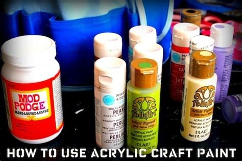 how to apply acrylic paint on canvas 8 tips for how to use acrylic paint mod podge rocks