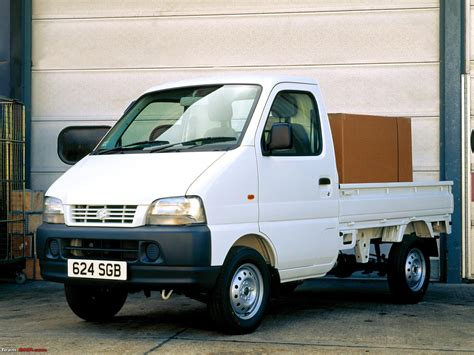 suzuki carry pickup end of the road for the gypsy page 3 team bhp
