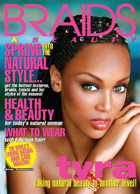 Black Hairstyles Magazine Braids by Braiding Hair Magazines