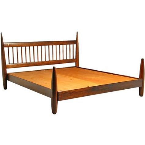 wooden king bed frame king size exotic wood bed frame by sergio rodrigues by
