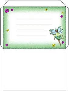Green fairy envelope rooftop post printables