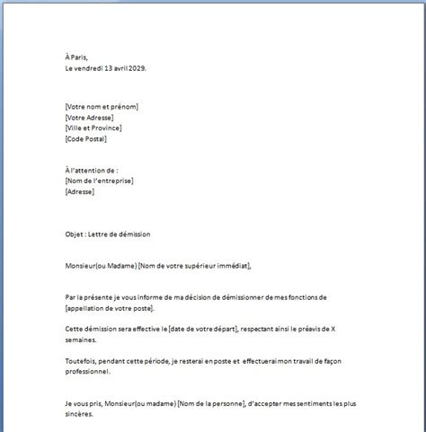 Exemple De Lettre De Démission Assistant Maternelle Cover Letter Exle Lettre De Motivation Gratuite Nounou