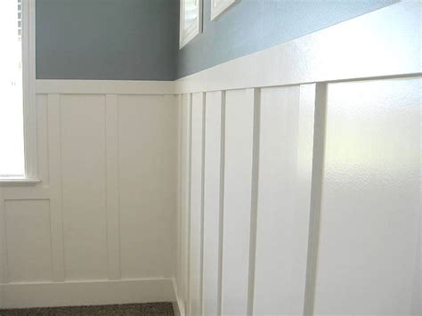 Wainscoting Height Dining Room Lec Cabinets Board Amp Batten Wainscoting