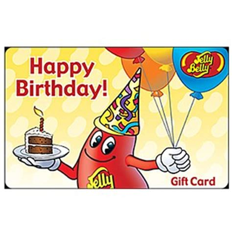 Online Gift Cards For Birthdays - jelly belly gift card happy birthday jelly belly candy company