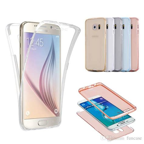 New Casing 360 Degree Tpu Slim Silicone Samsung Galaxy Note 3 360 degree front and back protect soft tpu cover for iphone 7 6 6s plus 4 7 5 5