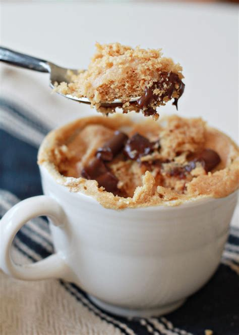 easy vegan peanut butter mug cake kitchen treaty