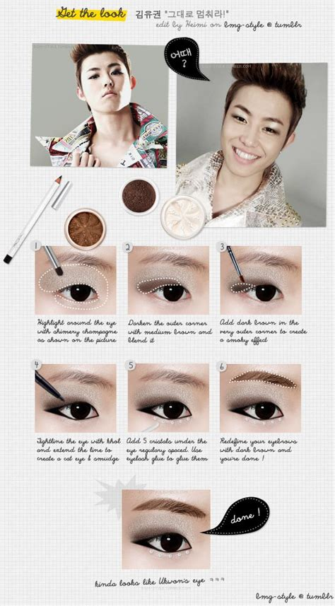 tutorial make up idol korea 1000 images about kpop makeup on pinterest makeup