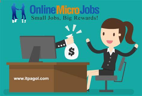 Make Money Online Micro Jobs - make money online by doing micro jobs online tips