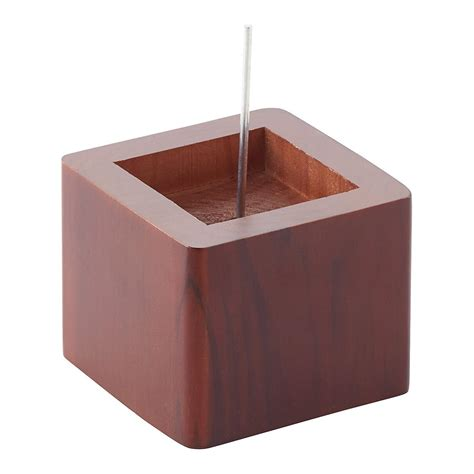 bed riser walnut solid wood bed risers the container store